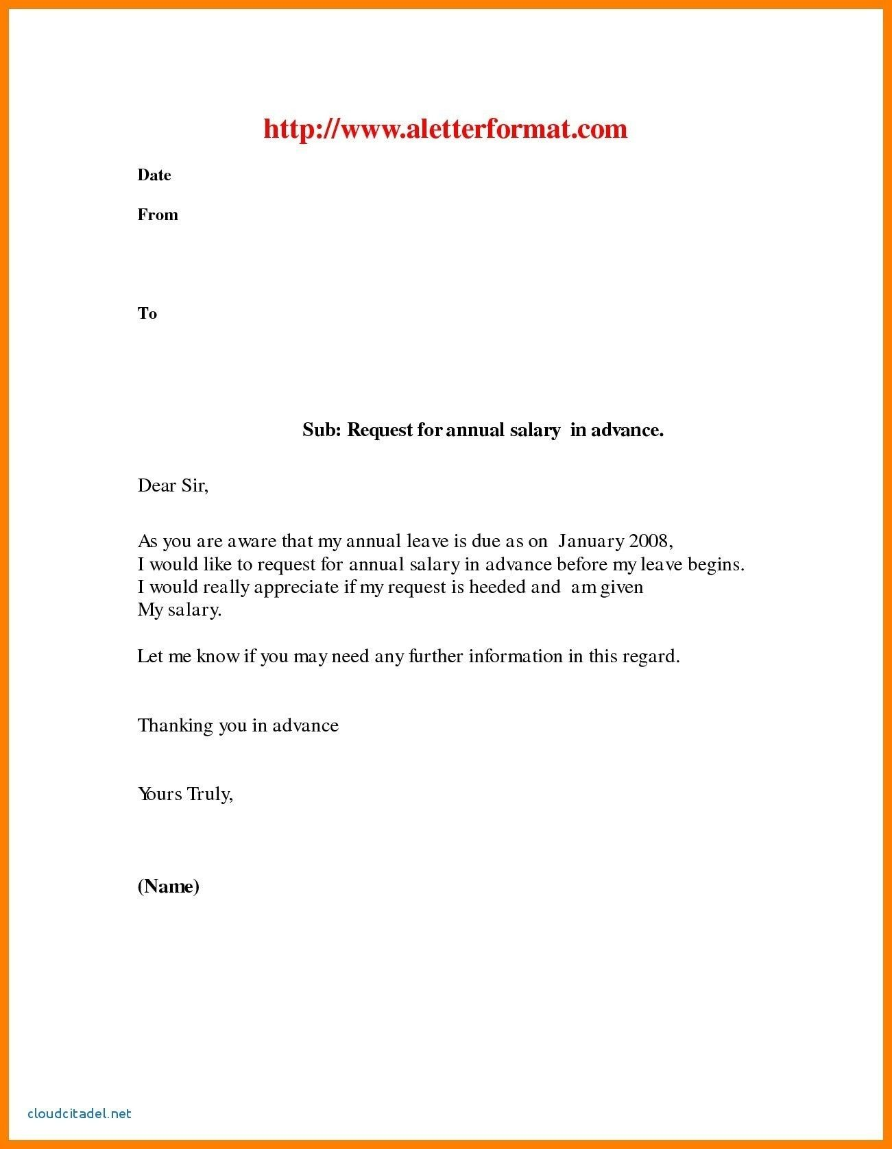 Annual Vacation Leave Letter Sample from i.pinimg.com
