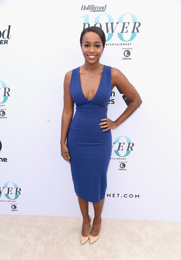 Aja Naomi King and alfred enoch married
