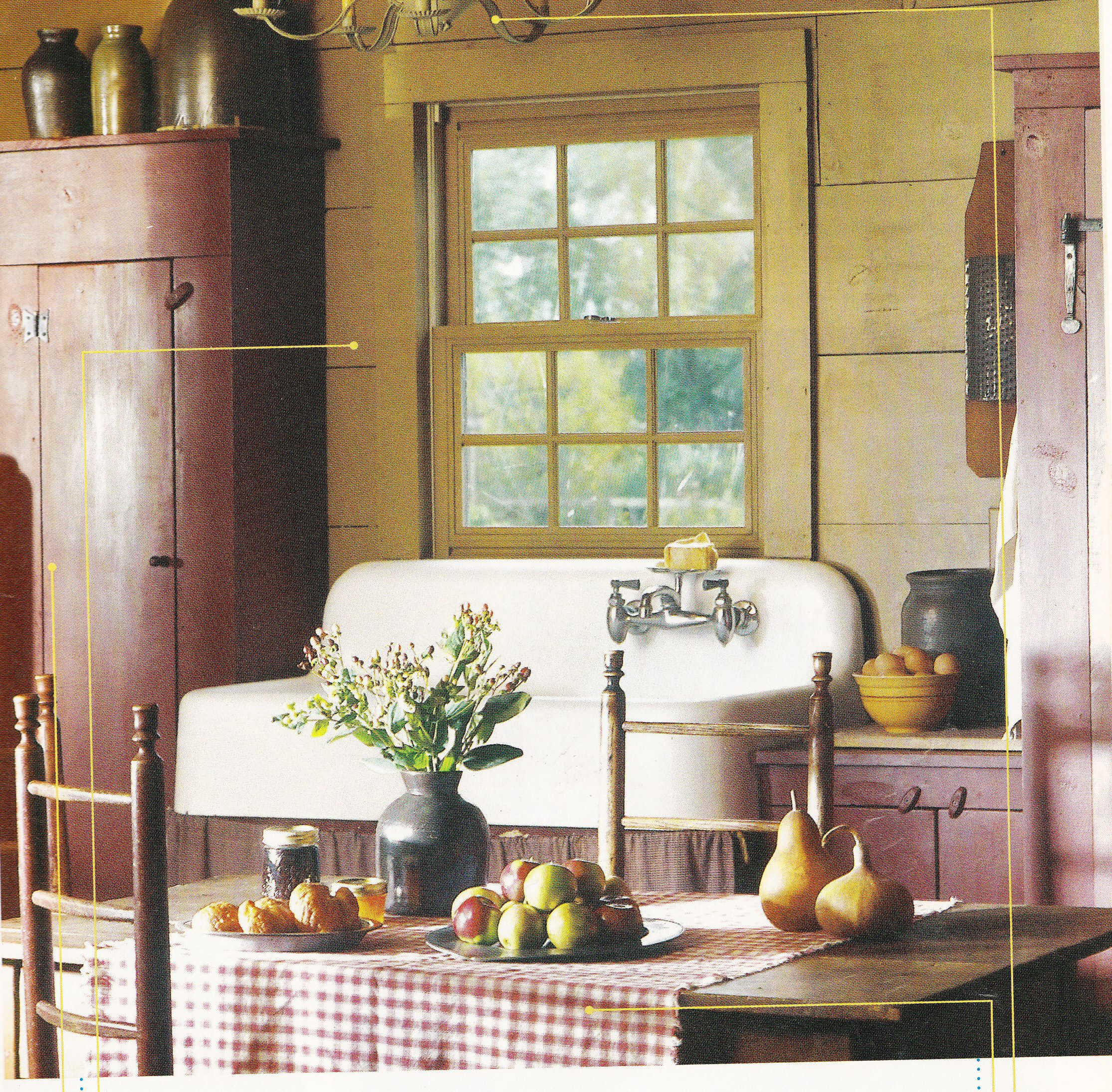 Country Sampler magazine Home Tours 2009 page 115