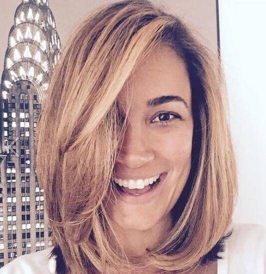 Ein Longbob Jana Ina Zarella Zeigt Ihre Neue Frisur Facebook