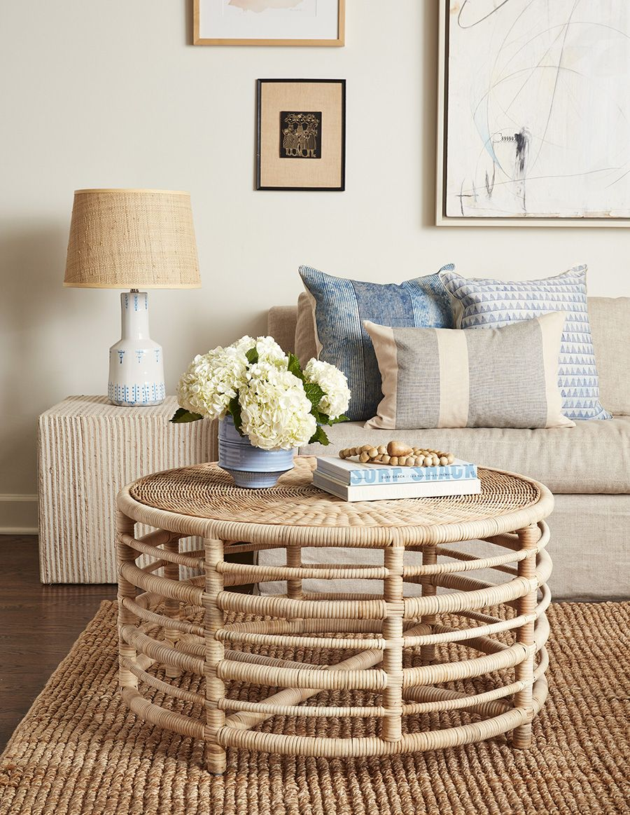 Montauk Natural Rattan Coffee Table From Dear Keaton Coastal Inspired Design With Classic Lines Rattan Furniture Living Room Rattan Coffee Table Coffee Table [ 1163 x 900 Pixel ]