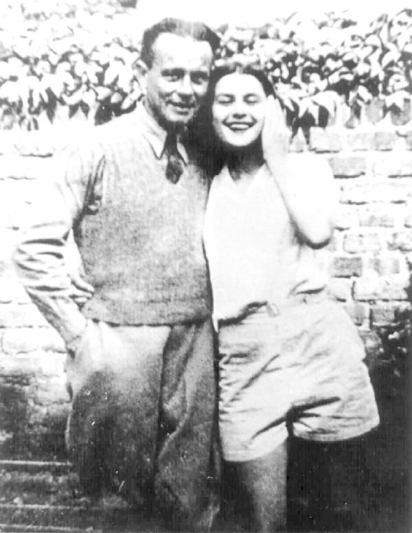 Violette Szabo and her husband Etienne.   The Special