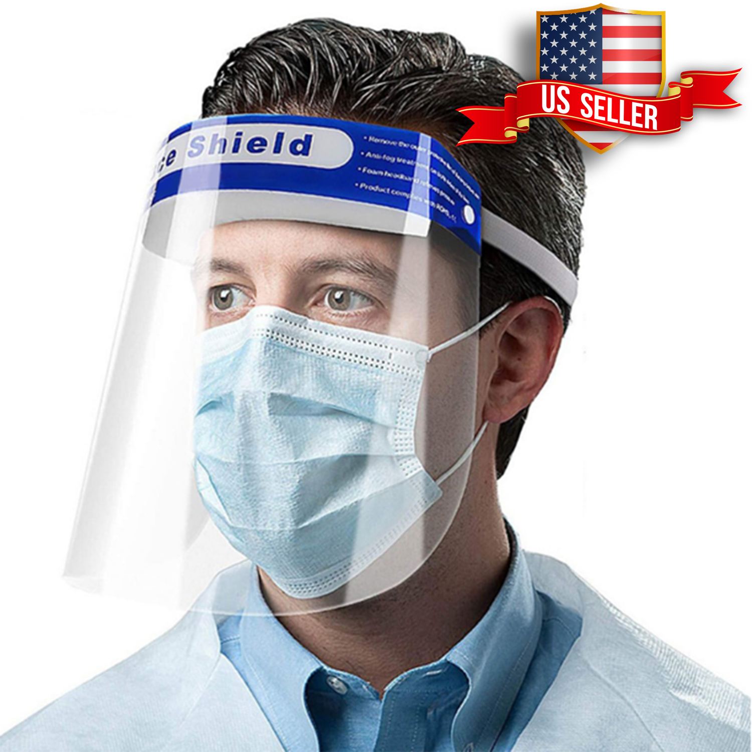 Unisex 4 Face Shield Safety Full Face Shield Transparent Visor With Eye And Head Protection Anti Spitting Splash Facial Cover Walmart Com In 2021 Face Shield Masks Face Shields Face Shield