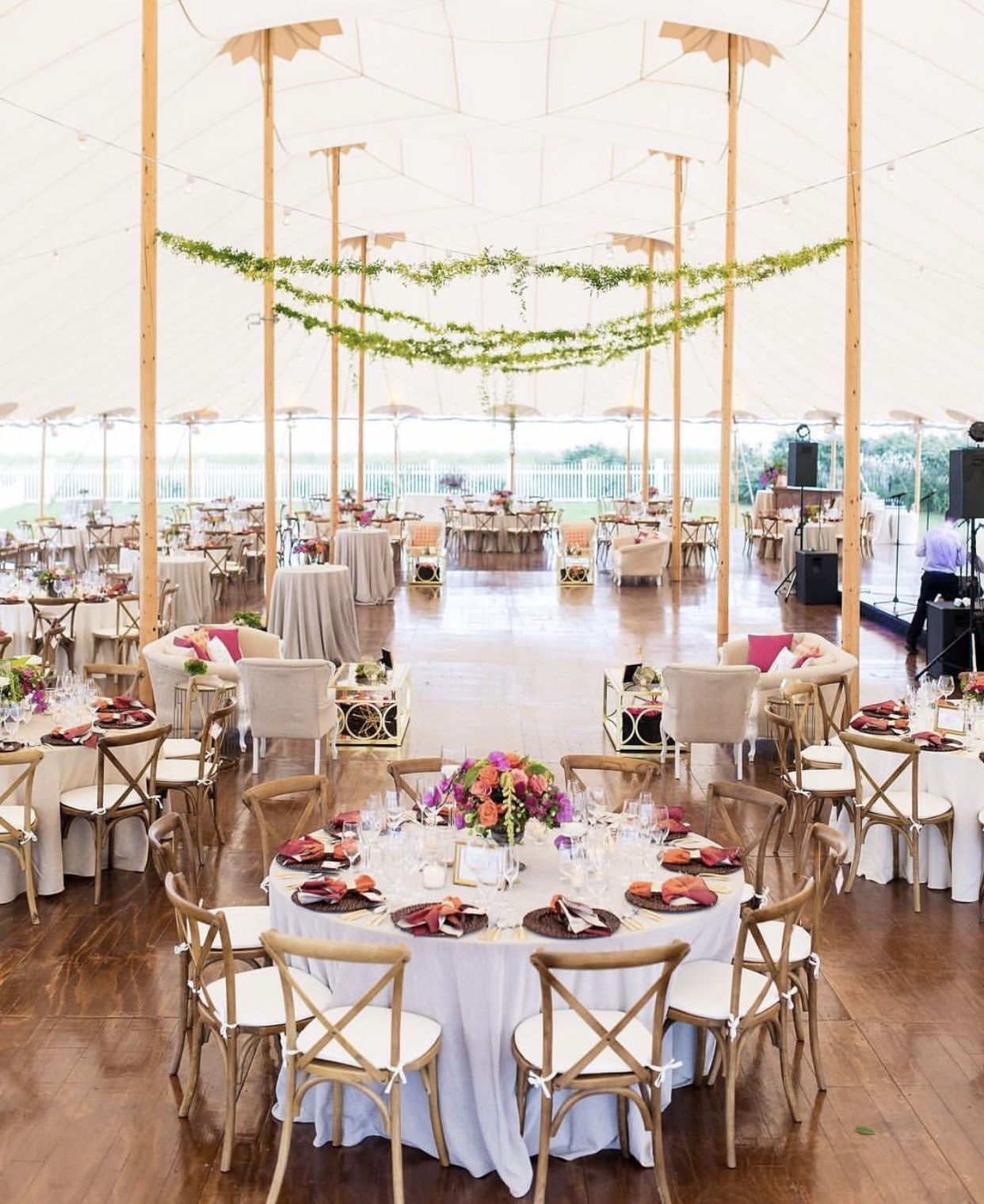 Pin by Meghan McCormick on One day.. Tent wedding