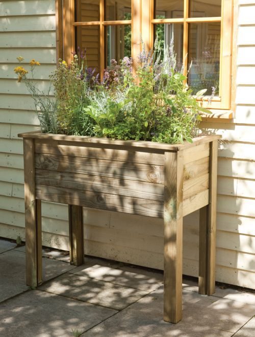 Forest A Lifetime Outdoors Diy Planters Planter Table Window Box