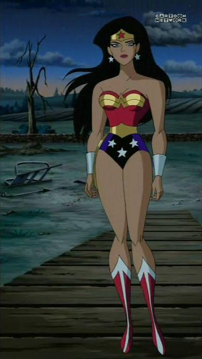 Justice League Unlimited Wonder Woman | Lea Malvorlagen ...