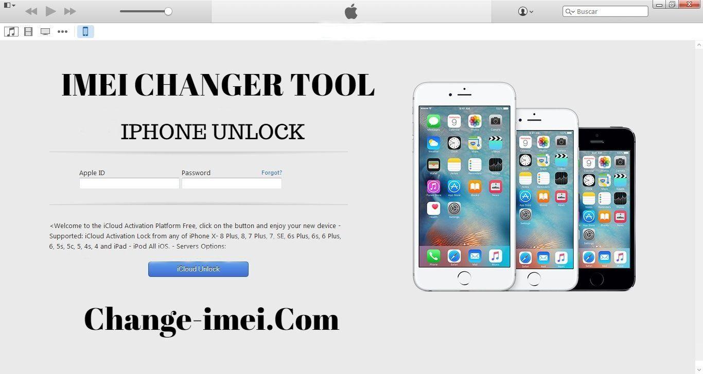 Imei changer tool online icloud unlock free service 2018