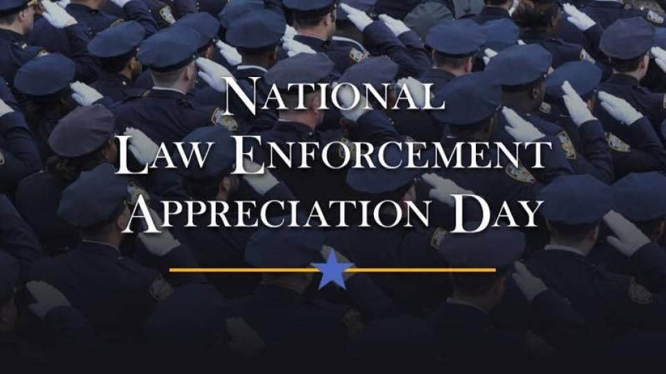 Thank you to all of our police officers that keep our