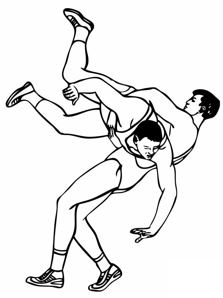 Top 10 Wrestling Coloring Pages For Your Little One