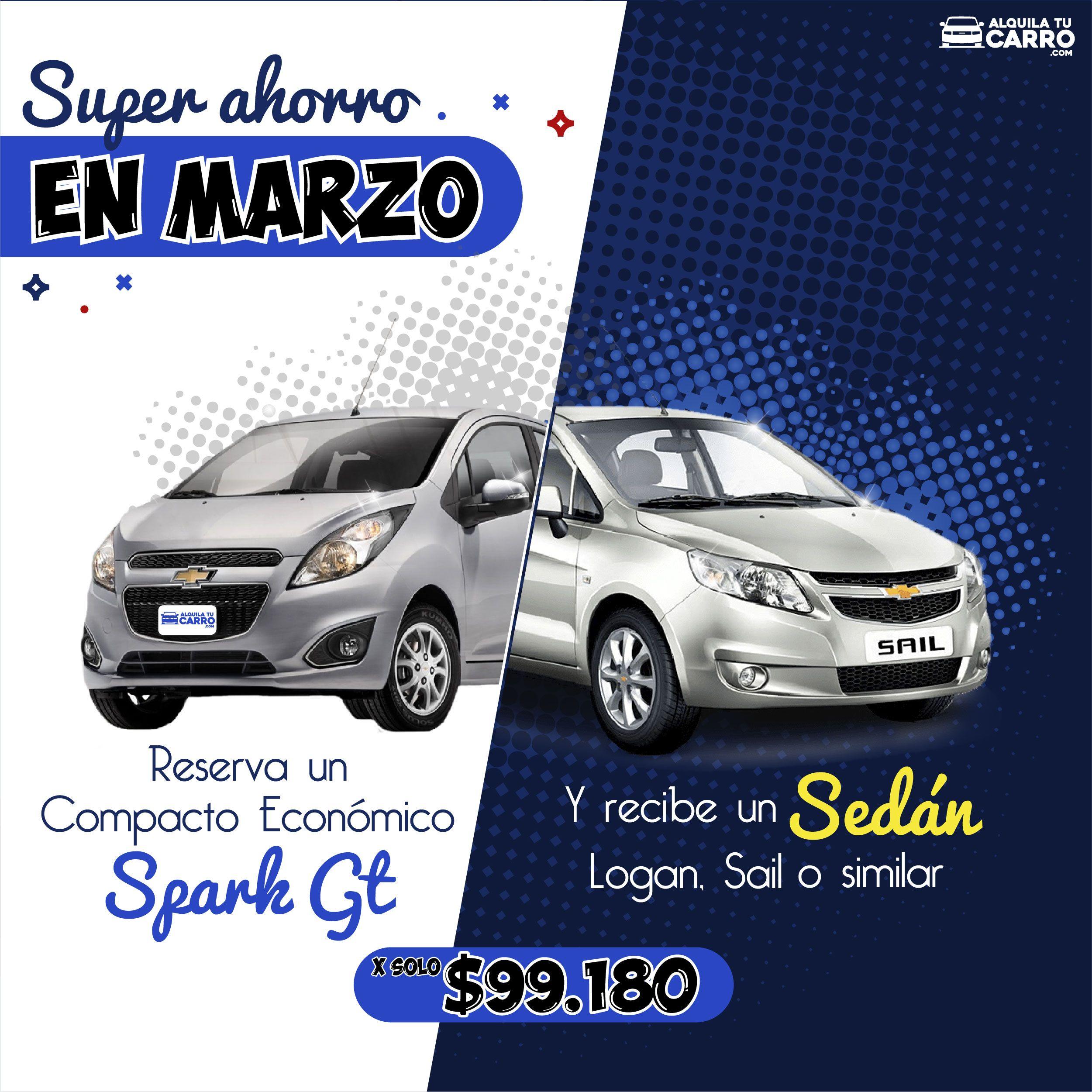 Reserva Un Compacto Economico Spark Gt Y Recibe Un Sedan Mecanico