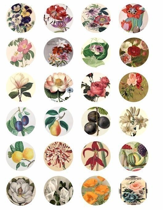 The small things are what matter in life. Diminutive floral stickers = No exception.