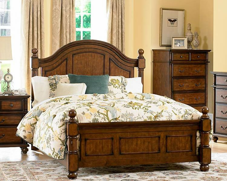 Country Style Four Poster Bed Bedroom Set Country Style Bed Master Bedroom Set