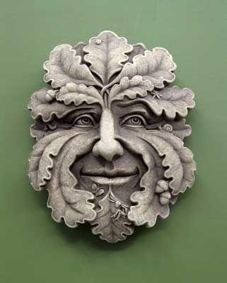 Green Man -- Carruth Studio: Waterville, OH | Garden design ...