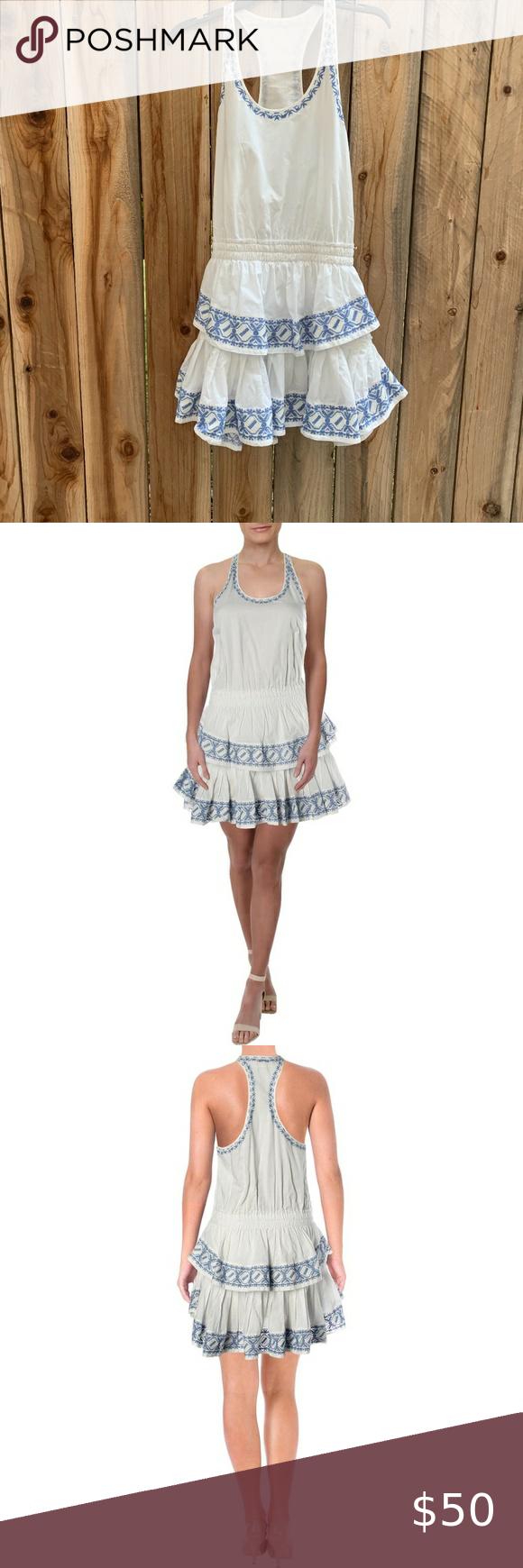 Loveshackfancy Racerback Dress Size M Racerback Dress Boho Casual Dresses [ 1740 x 580 Pixel ]