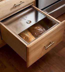 Base Bread Box Drawer In 2019 Kitchen Bread Drawer