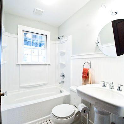 Is That Wood Trim Around A Shower Surround Black White