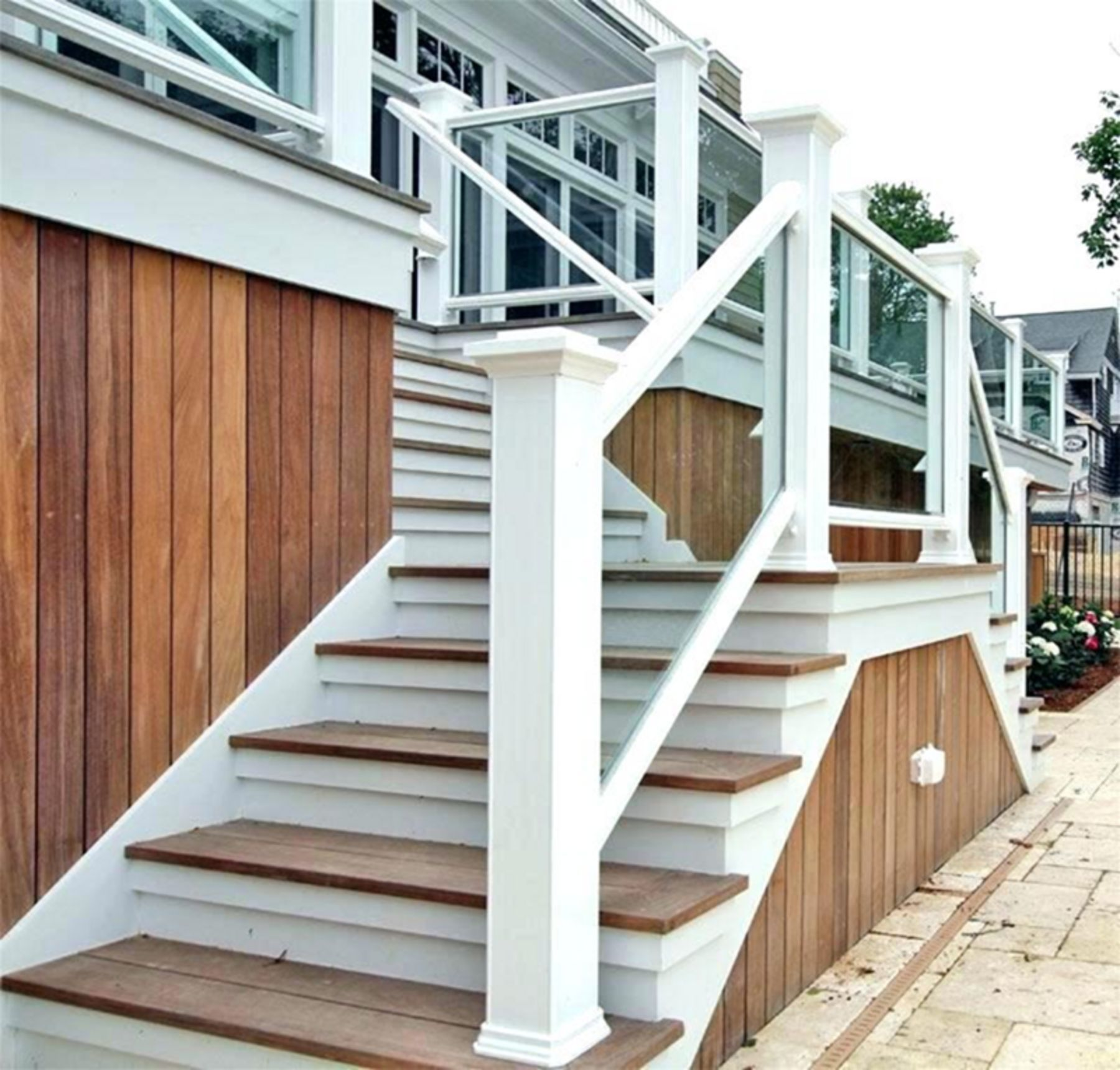 10+ Stunning Outdoor Stair Design Ideas For Your Home ...