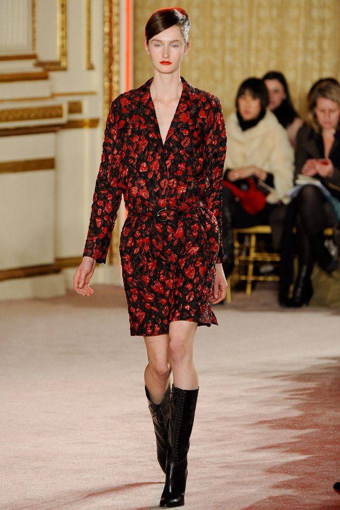 Thakoon Fall 2012 Ready-to-Wear Fashion Show - Mackenzie Drazan
