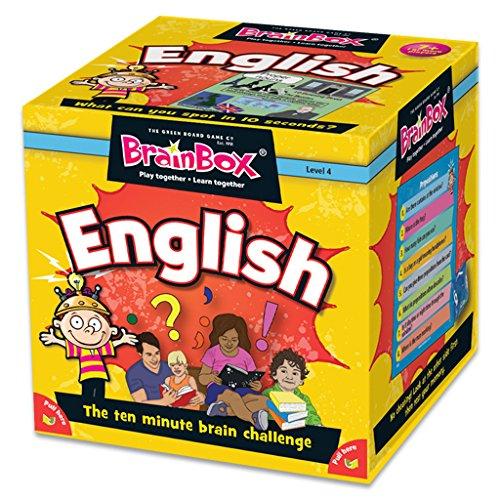 The Green Board Game Co G0990045 Brainbox English Amazon
