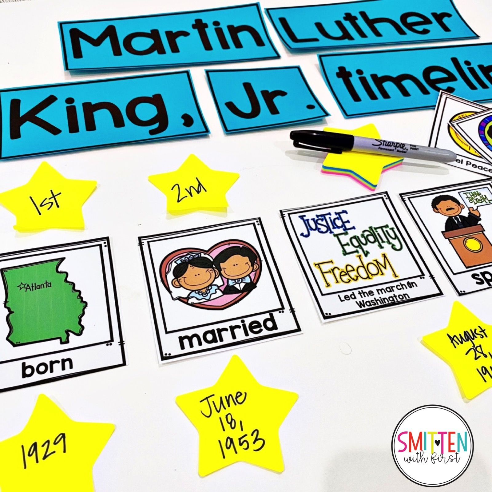 Martin Luther King Jr Activities In