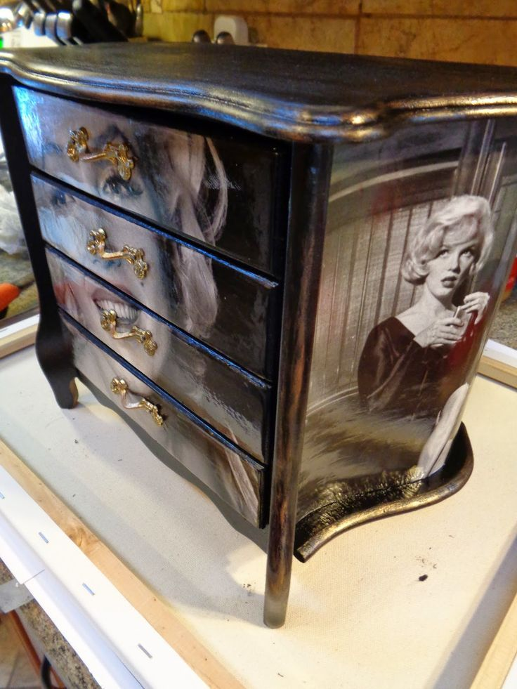 Redo It Yourself Inspirations Marilyn Monroe Jewelry Chest