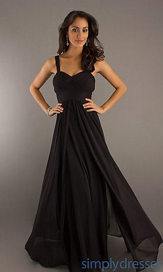 ILC?  Long Formal Dress for Prom at SimplyDresses.com