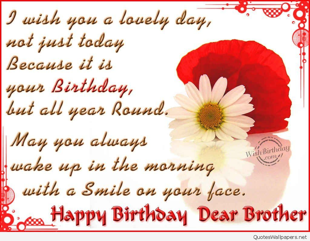 Happy Birthday Wishes Brother Images Picturescaption Happy