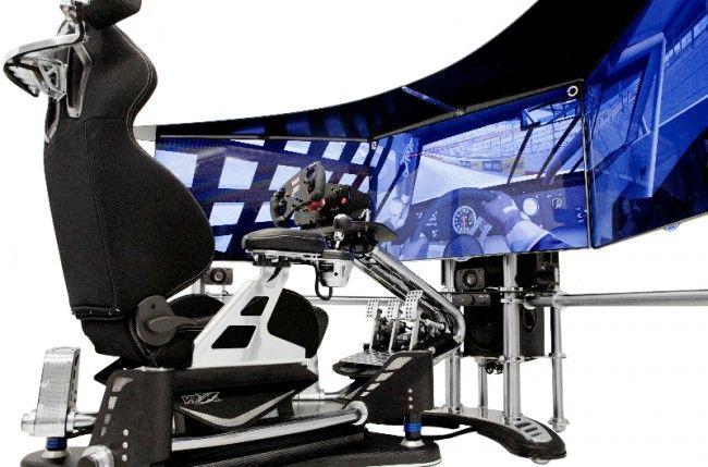 Custom Racing Simulator   back from the future   Racing simulator