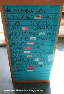 Photo of Kita – box of ideas! Not only for educators !: Greetings from all over the world