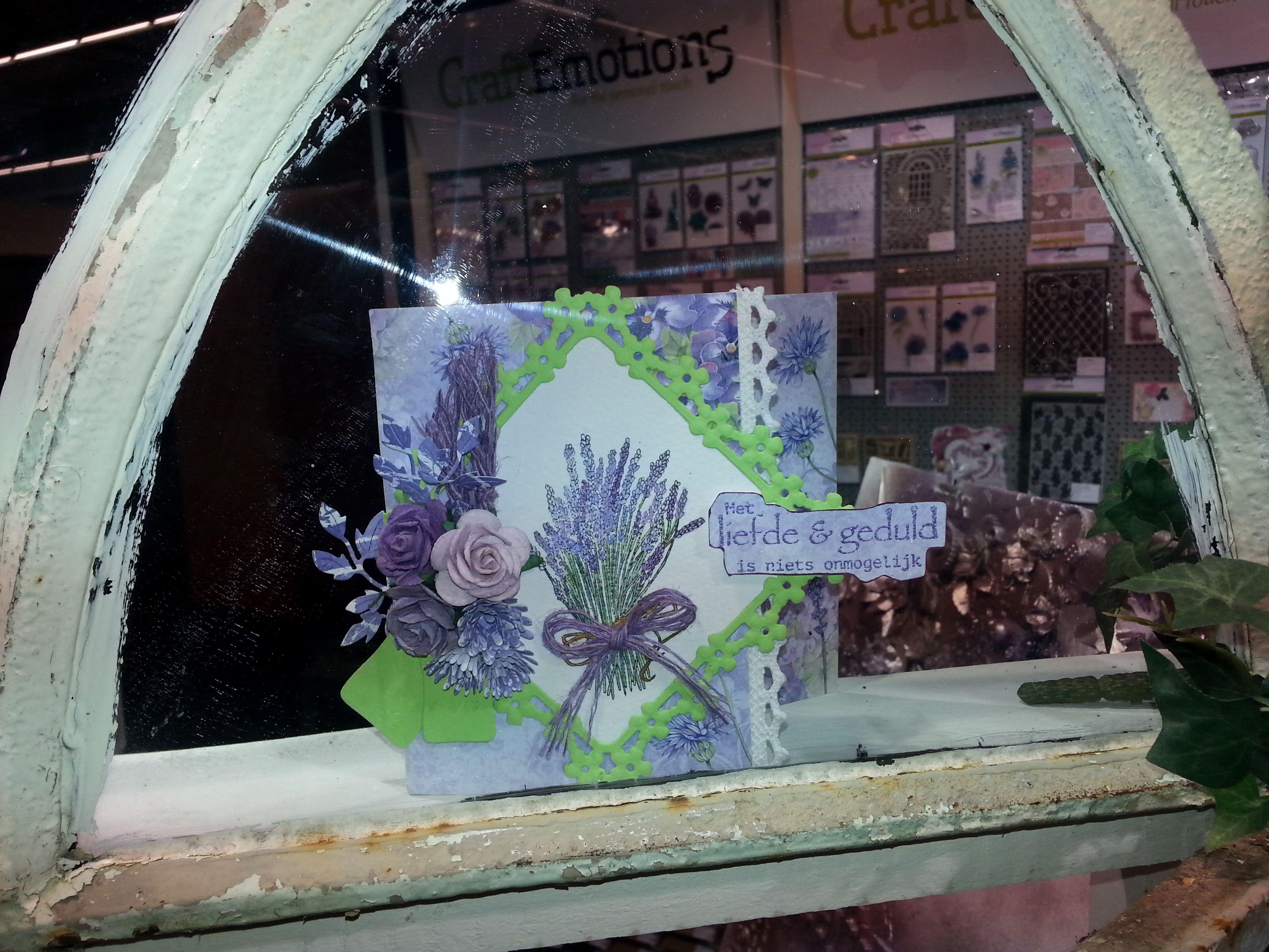 Inspiration CraftEmotions Romanic Provence Collection - Frankfurt Creative World - January 2015