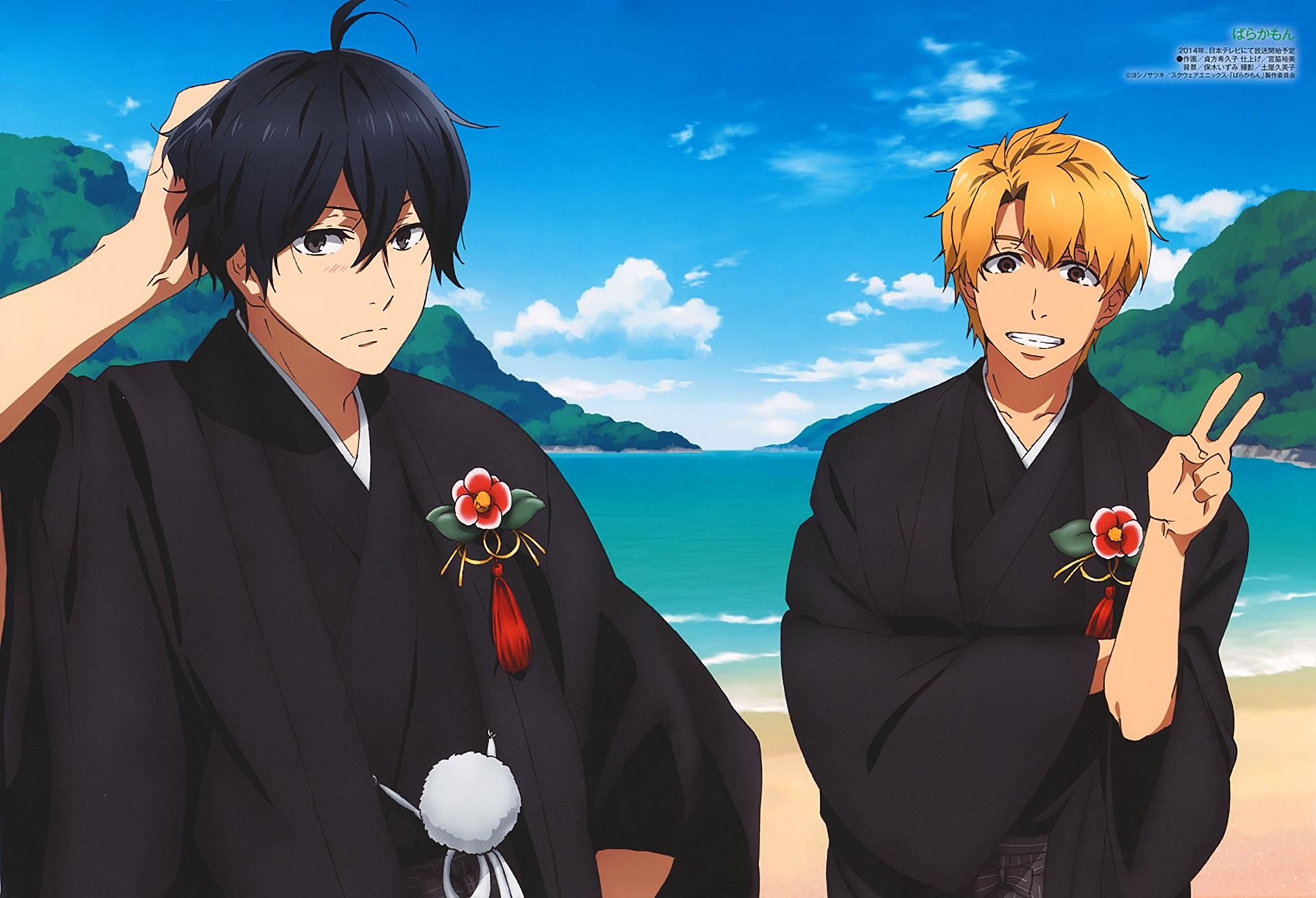 Anime Barakamon Hiroshi Kido Seishuu Handa Wallpaper in