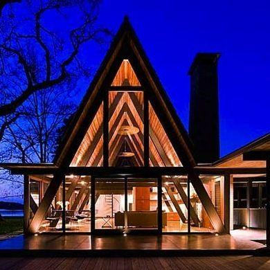 modern a frame house designs small modern house - Modern A Frame