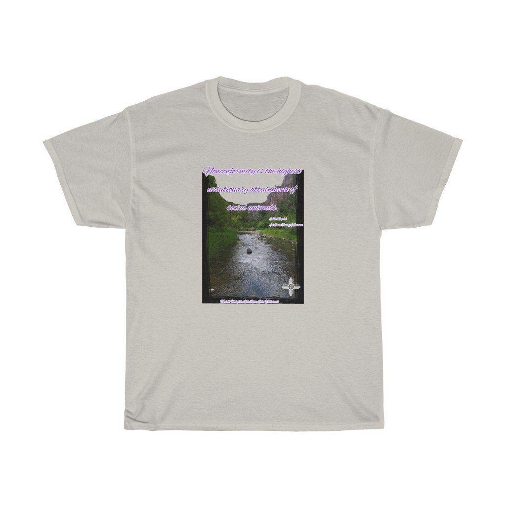 Gila Wilderness/Aldo Leopold Quote - L / Ice Grey