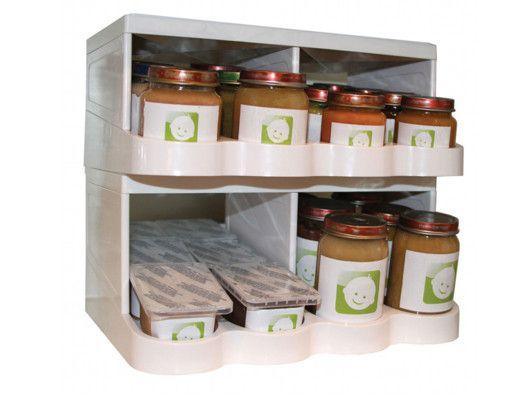 Universal Baby Food Jar Storage & Organizer from OrgJunkie ...