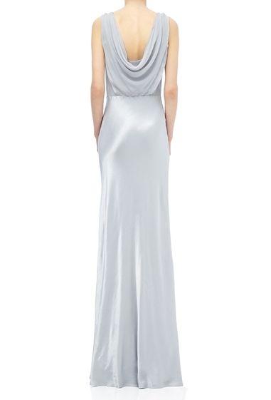 Claudia Dress Silver Lake | Ghost.co.uk | Liquid Silk | Pinterest