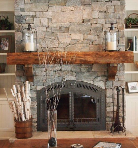 47 Fireplace Designs Ideas: 33+ Modern And Traditional Corner Fireplace Ideas, Remodel