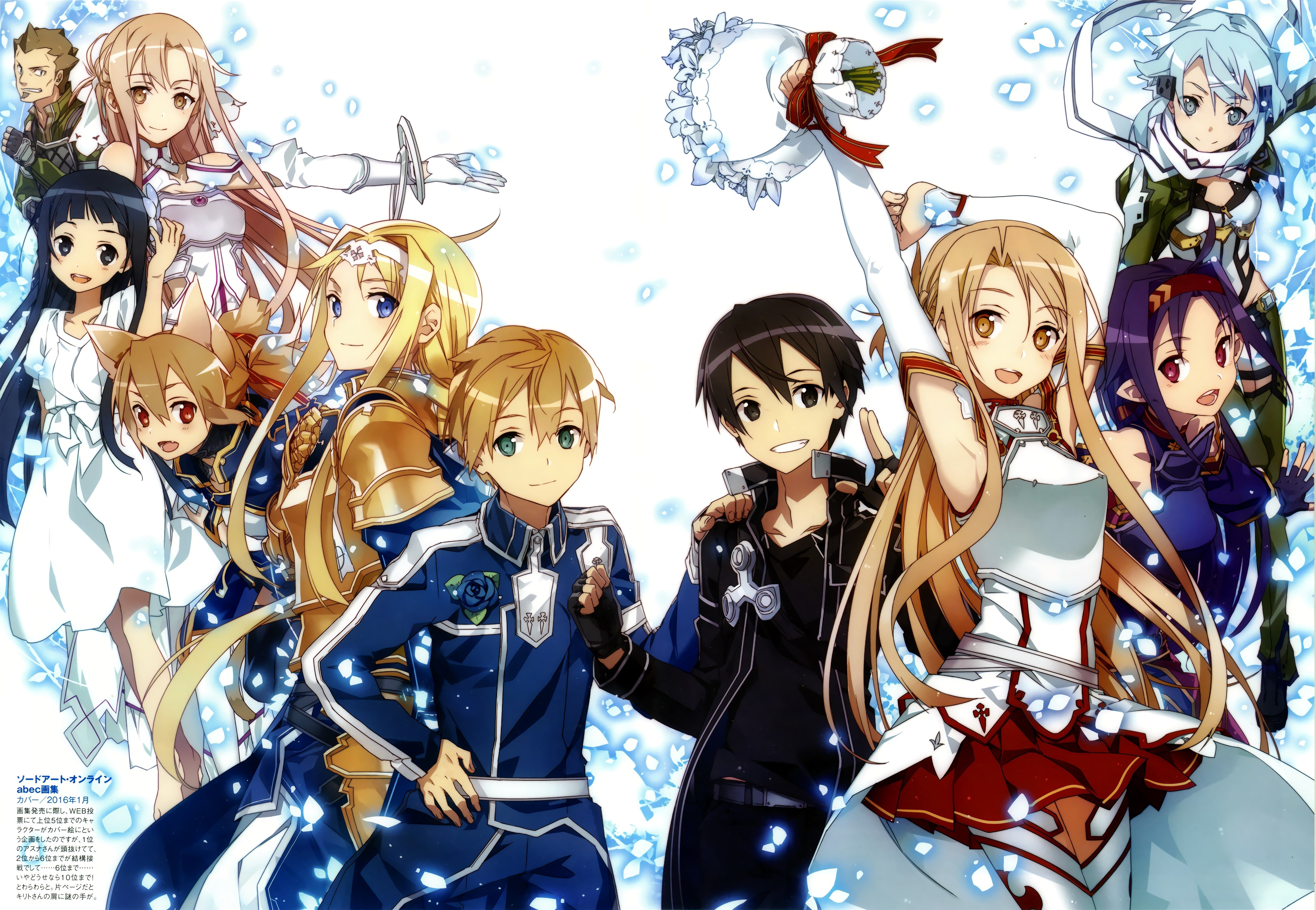 Sword Art Online Alicization Wallpaper 4k Anime Top Wallpaper