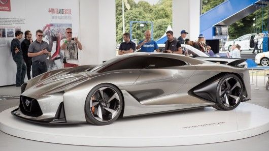 Nissan Concept 2020 Vision Gran Turismo Gets Real At Goodwood With Images Nissan Nissan Gt R Nissan Gt