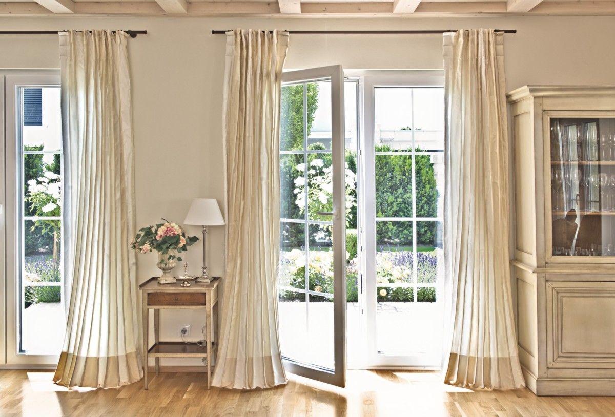 Bodentiefe Sprossenfenster Landhaus Villa Wohnideen