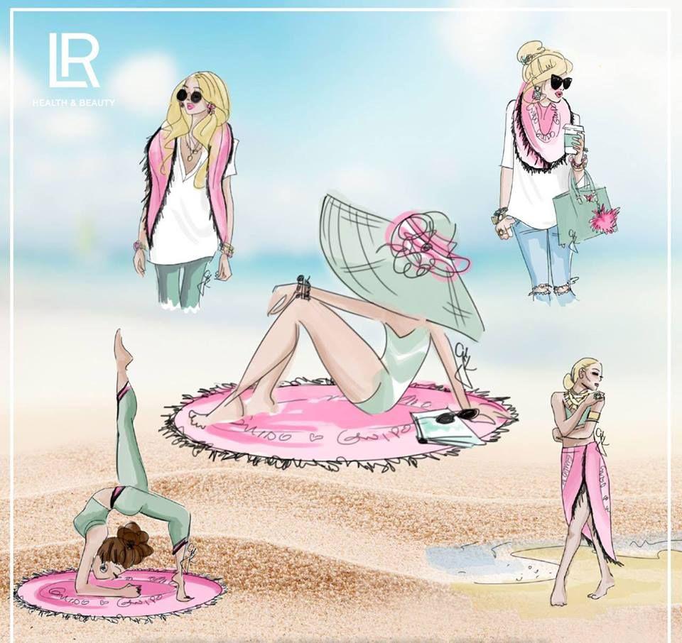 LR, Guido Maria Kretschmer Set Foulard édition limitée pour femmes, parfum floral, fruité, sensuel