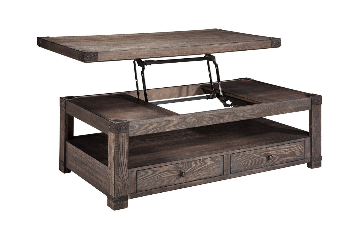 Burladen Coffee Table With Lift Top Coffee Table Coffee Table