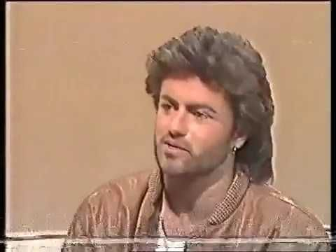 George Michael saying his real name - YouTube