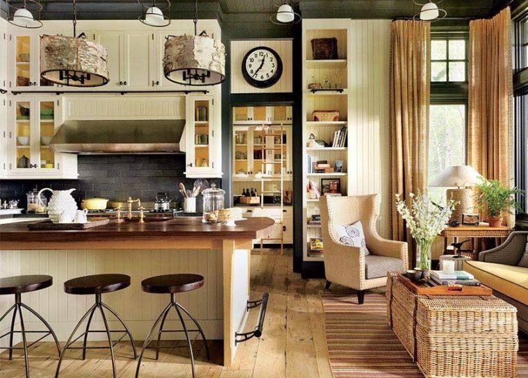 Cuisine cottage succombez au charme du style anglais for Cuisine ouverte en anglais