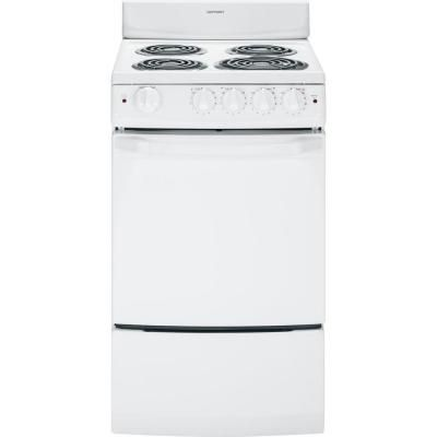 Hotpoint 20 In 2 4 Cu Ft Electric Range In White Ra720kwh With Images Hotpoint