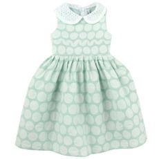 Simonetta - Sleeveless light green dress - 26981
