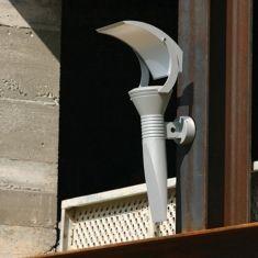 Apliques de aluminio para exterior modelo olimpic 3 for Faroles para iluminacion exterior