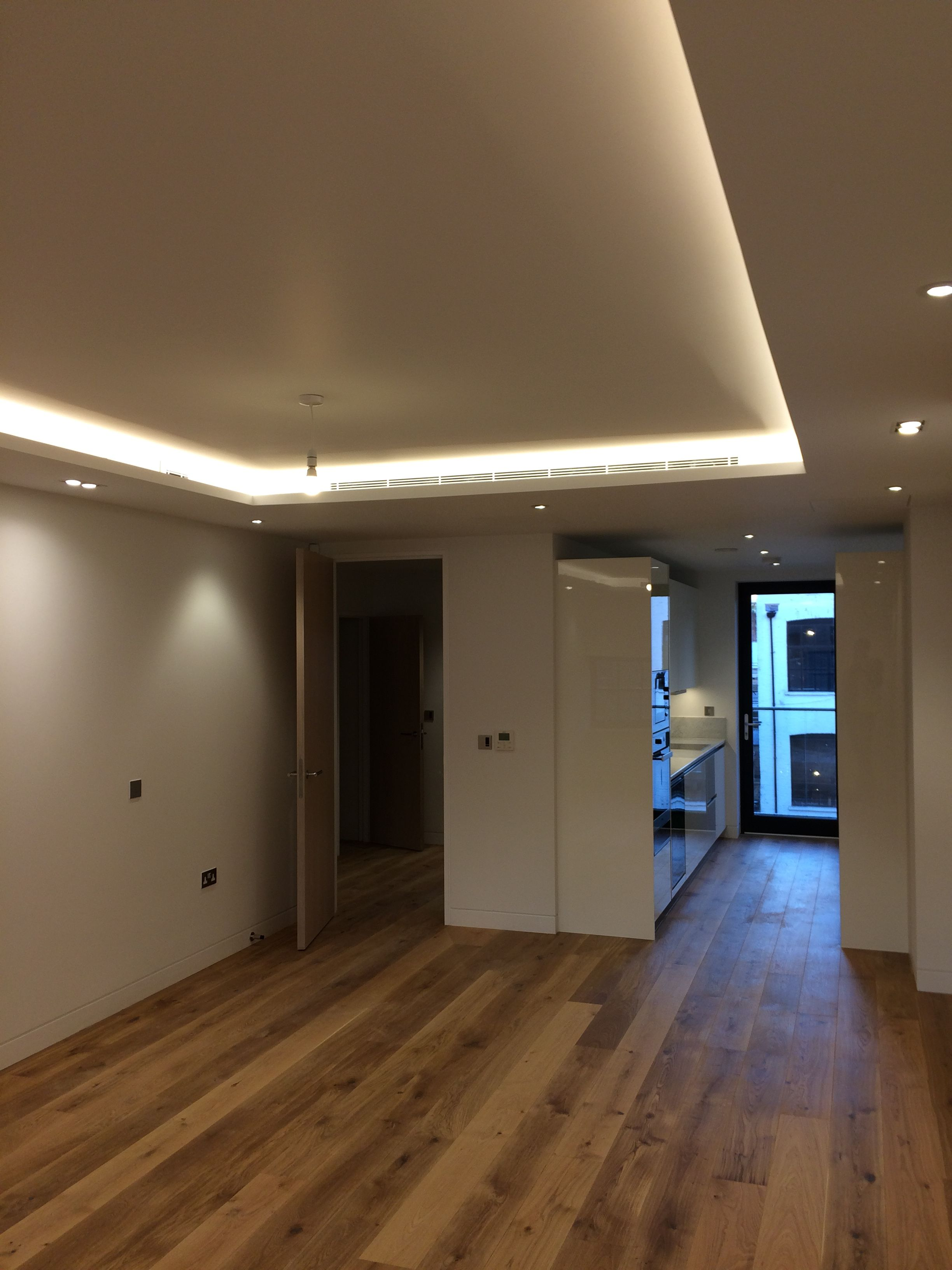 Hardwood flooring installed by Capital Prime fit out
