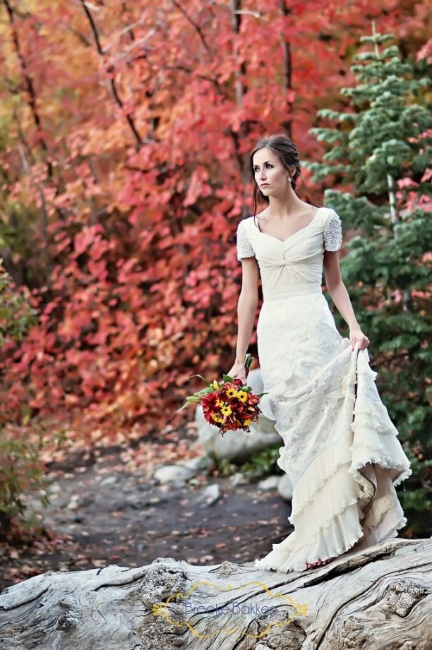 wedding #dress #sleeves #modest #lds #mormon #wedding #dress #modest ...