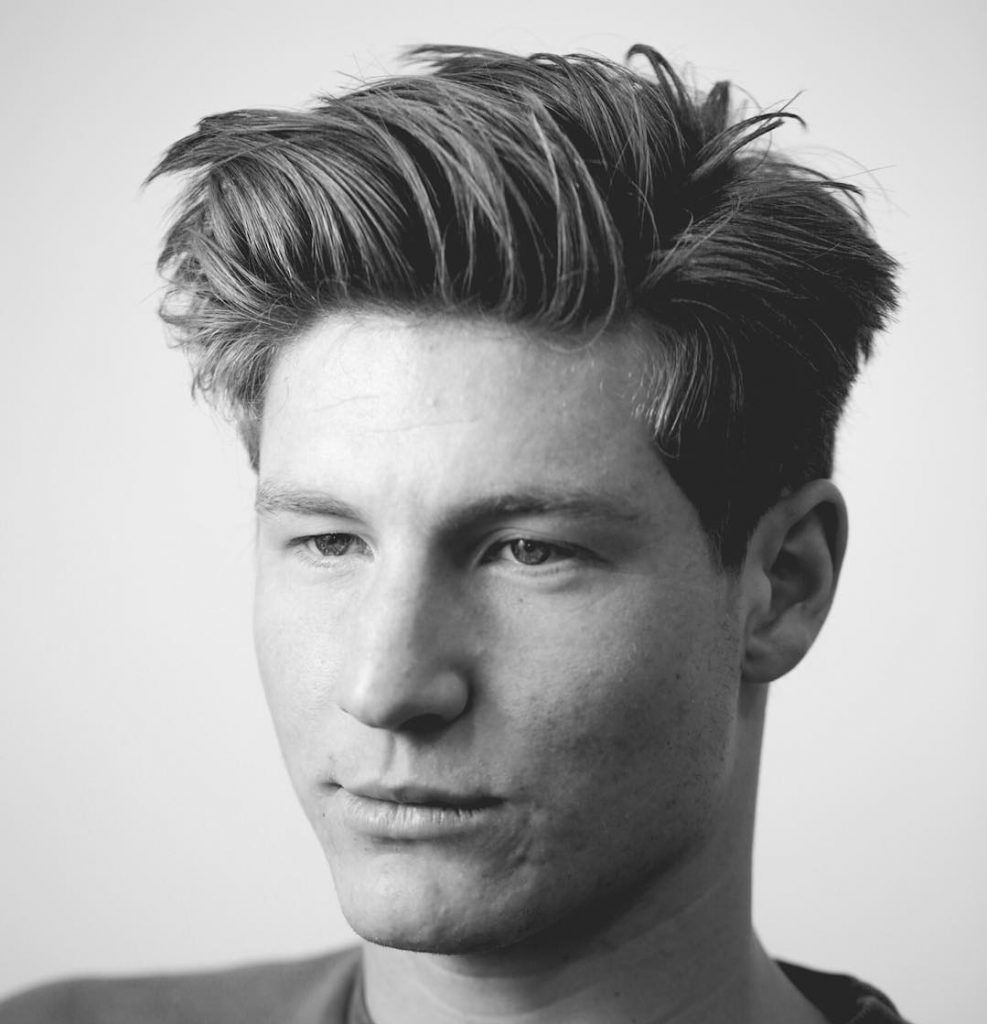 Best Medium Length Men\'s Hairstyles | Teen boy haircuts, Teen hair ...