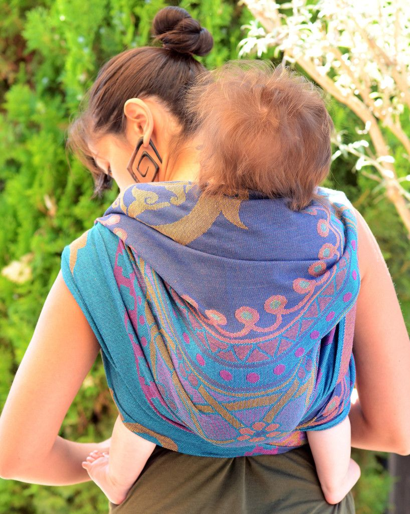 58abab0cce4 Another gorgeous pic of Didymos Orient Ayana (cotton blend) Woven Wrap